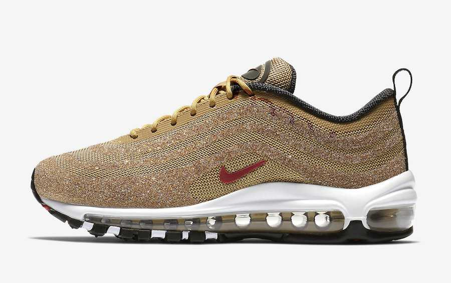 Nike Air Max 97 LX Gold Swarovski Hombre y Mujer