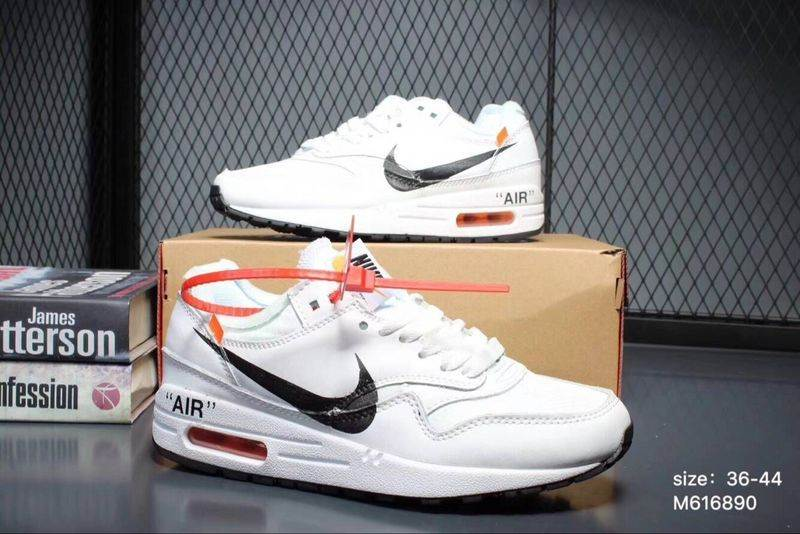 OFF White x Nike Air Max 1 Hombre y Mujer