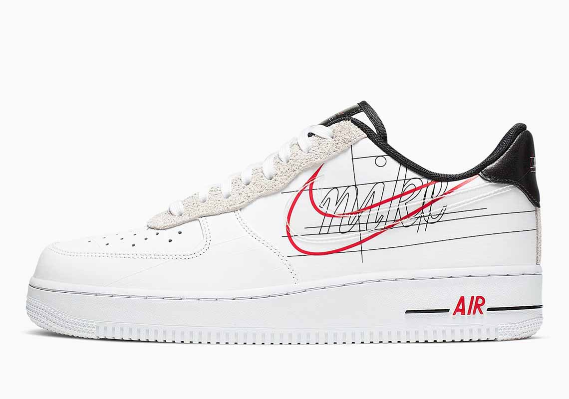 Nike Air Force 1 Low Script Swoosh Hombre y Mujer