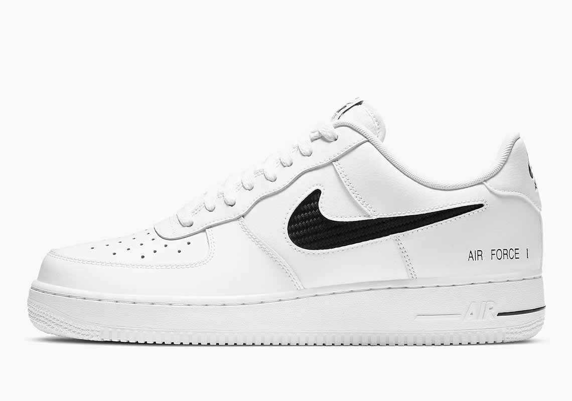 Nike Air Force 1 Low Cut Out Swoosh Hombre y Mujer