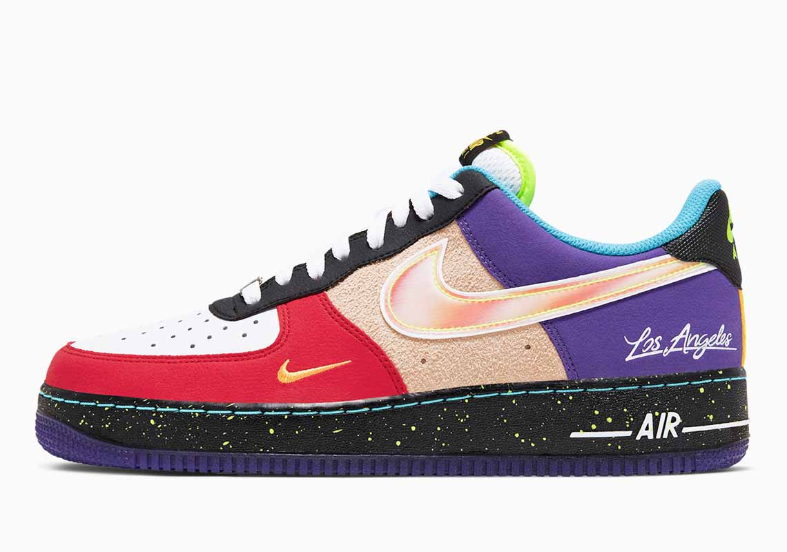 Nike Air Force 1 07 LV8 What The LA Hombre y Mujer