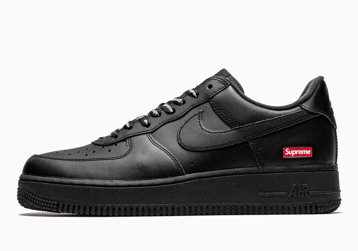 Supreme x Nike Air Force 1 07 Hombre y Mujer