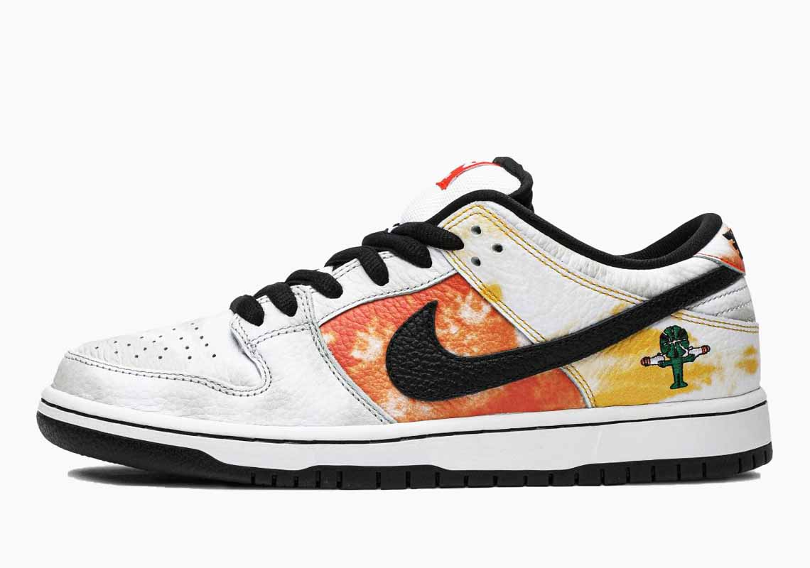 Nike SB Dunk Low Pro QS Raygun White Tie-Dye Hombre y Mujer