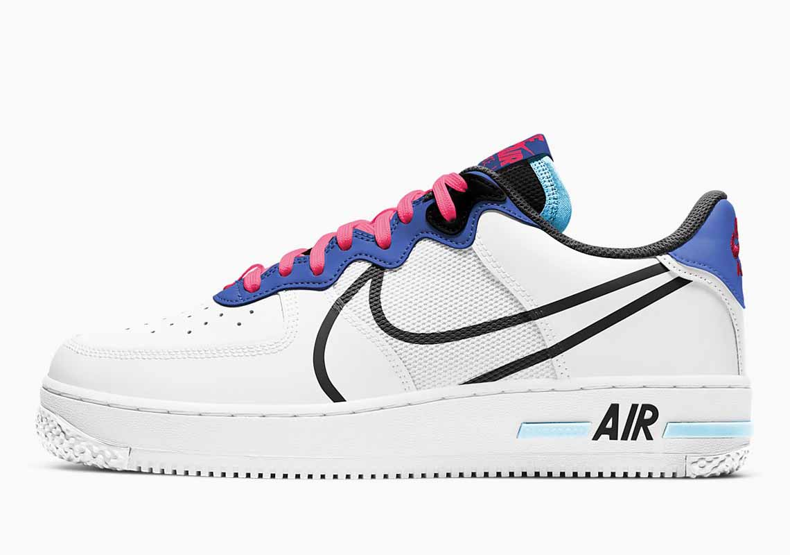 Nike Air Force 1 React Hombre