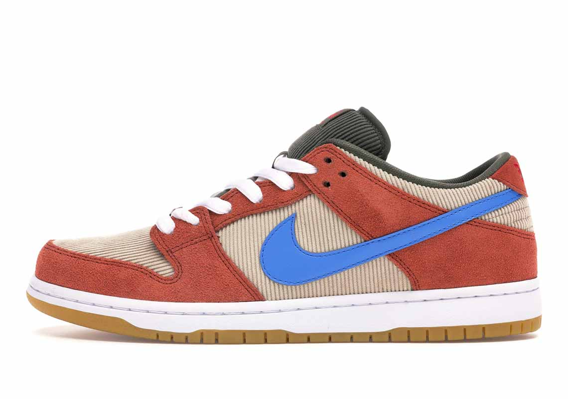 Nike SB Dunk Low Pro Corduroy Dusty Peach Hombre y Mujer