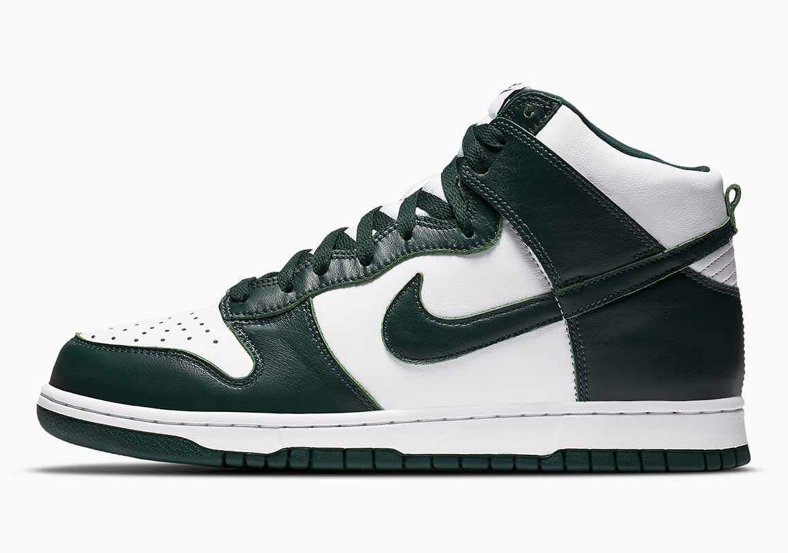 Nike SB Dunk High SP Spartan Green Hombre y Mujer