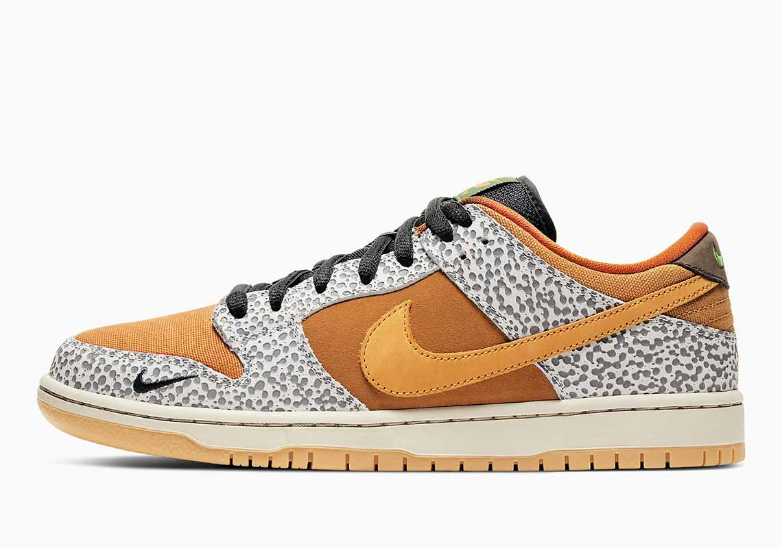 Nike SB Dunk Low Pro Safari Hombre y Mujer