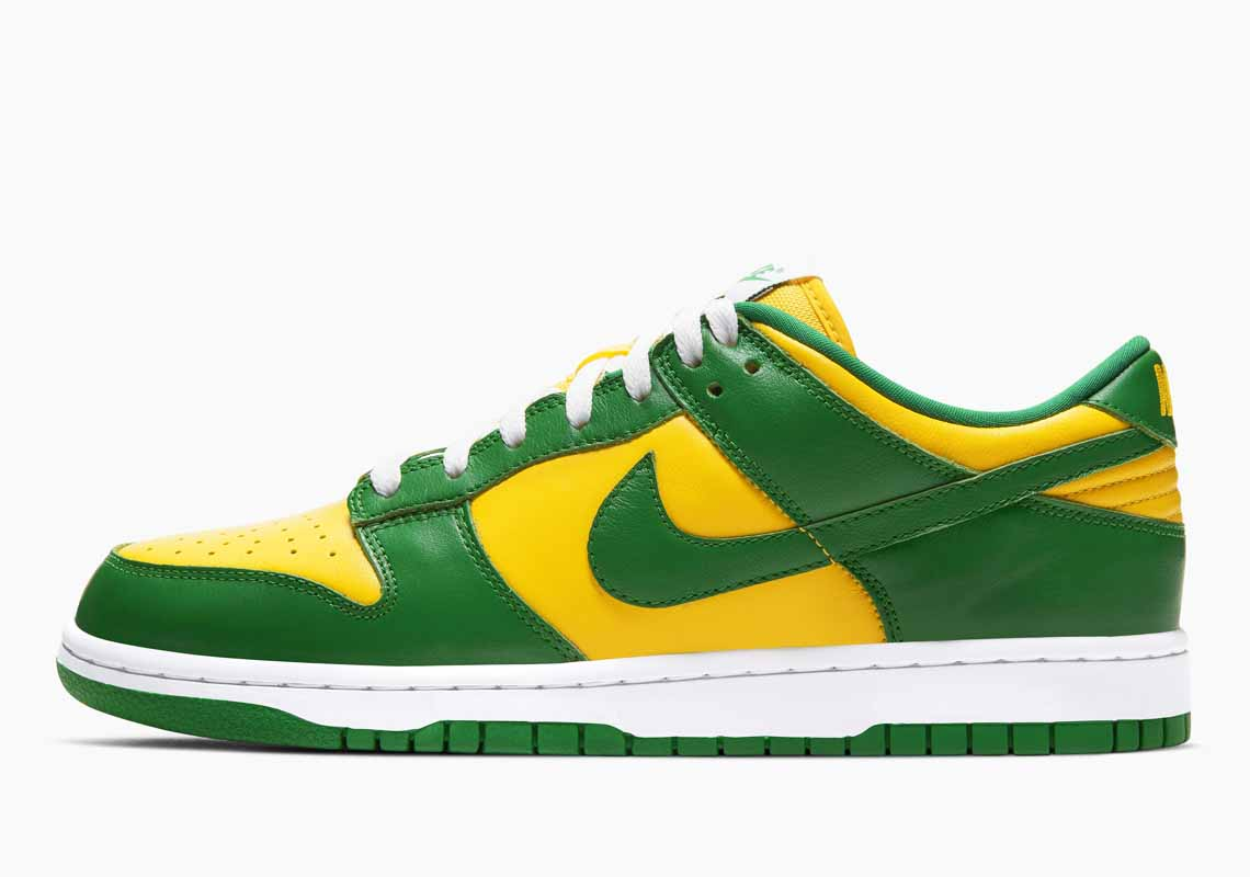 Nike SB Dunk Low SP Brazil Hombre y Mujer