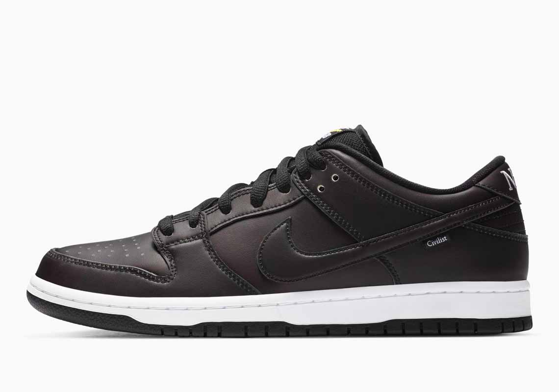 Civilist x Nike SB Dunk Low Pro QS Thermography Hombre y Mujer