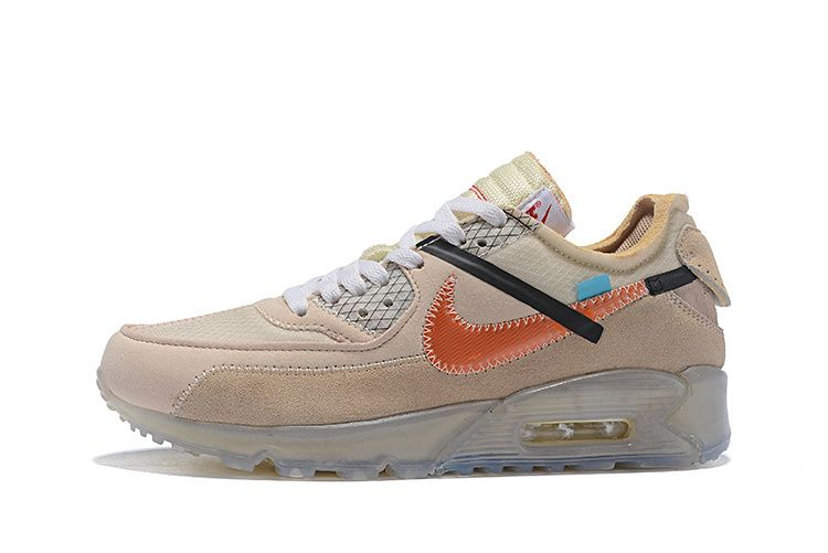 OFF White x Nike Air Max 90 Desert Ore OW Hombre y Mujer