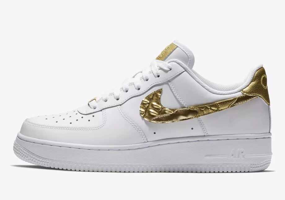 Nike Air Force 1 CR7 Golden Patchwork Low Hombre Y Mujer