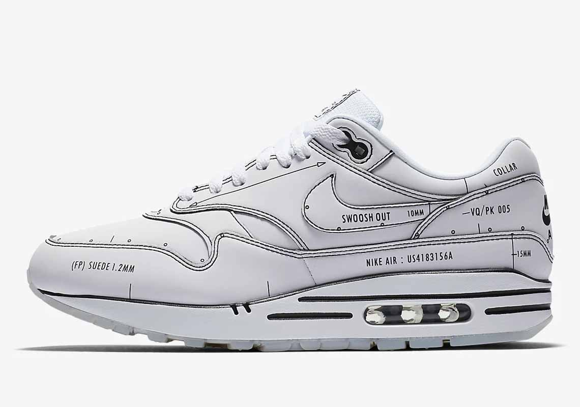 Nike Air Max 1 Sketch To Shelf Hombre y Mujer