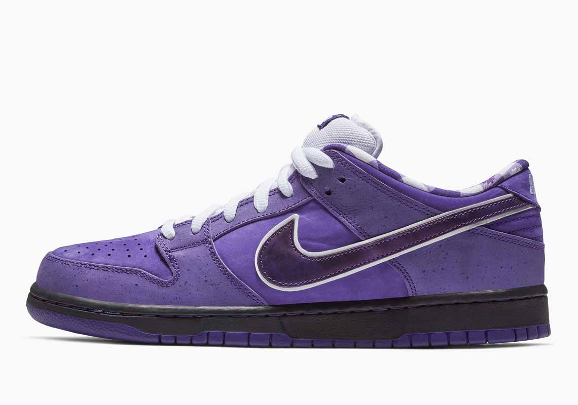 Concepts x Nike SB Dunk Low Purple Lobster Hombre y Mujer