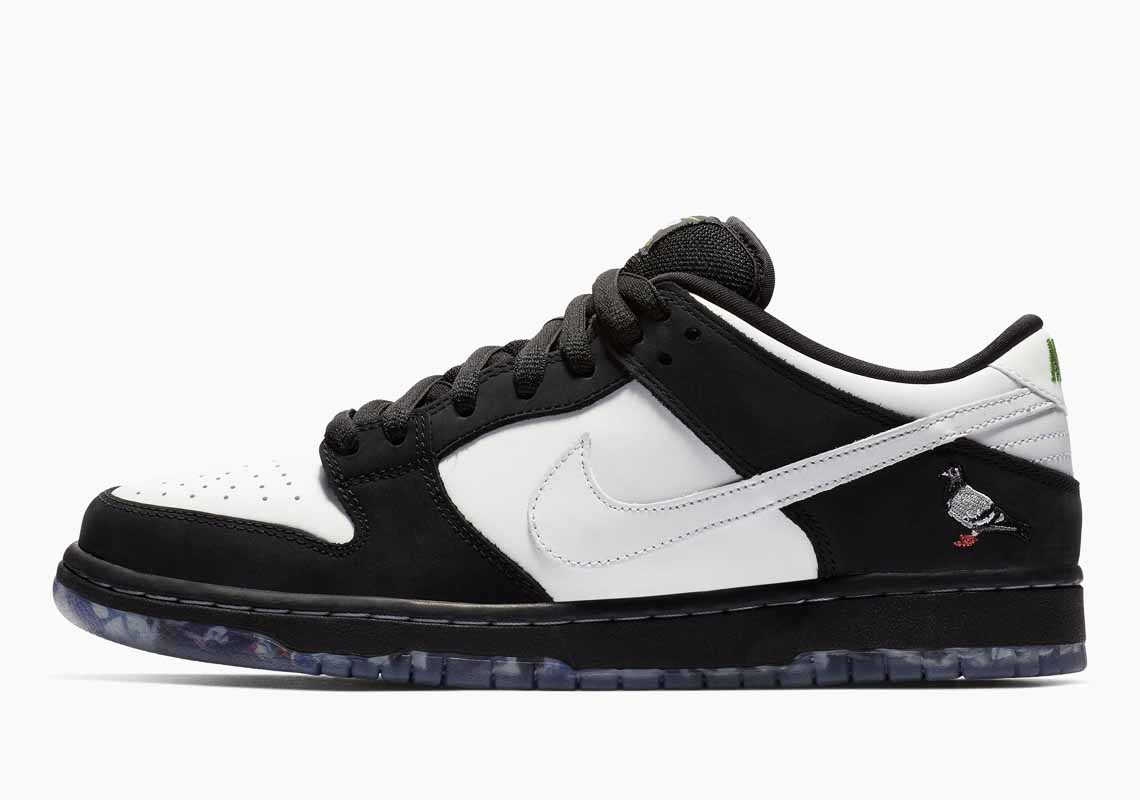 Nike SB Dunk Low Pro Panda Pigeon Hombre y Mujer