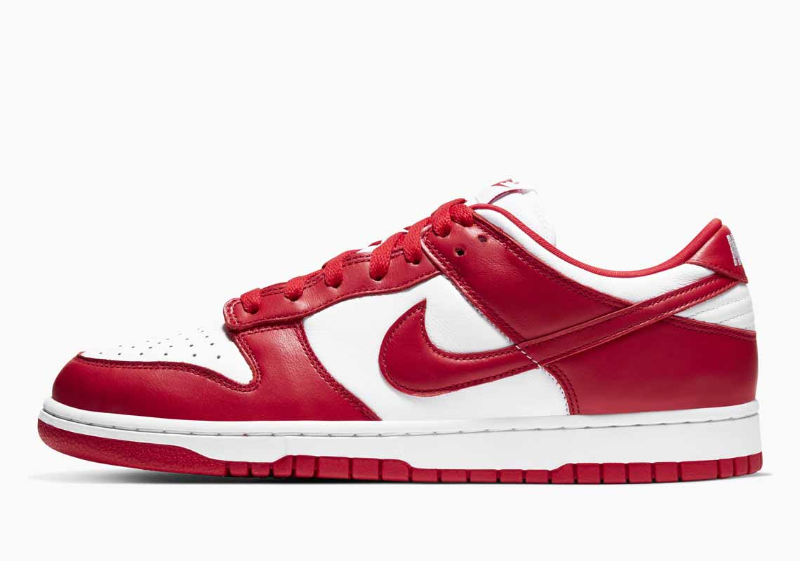 Nike SB Dunk Low SP University Red Hombre y Mujer