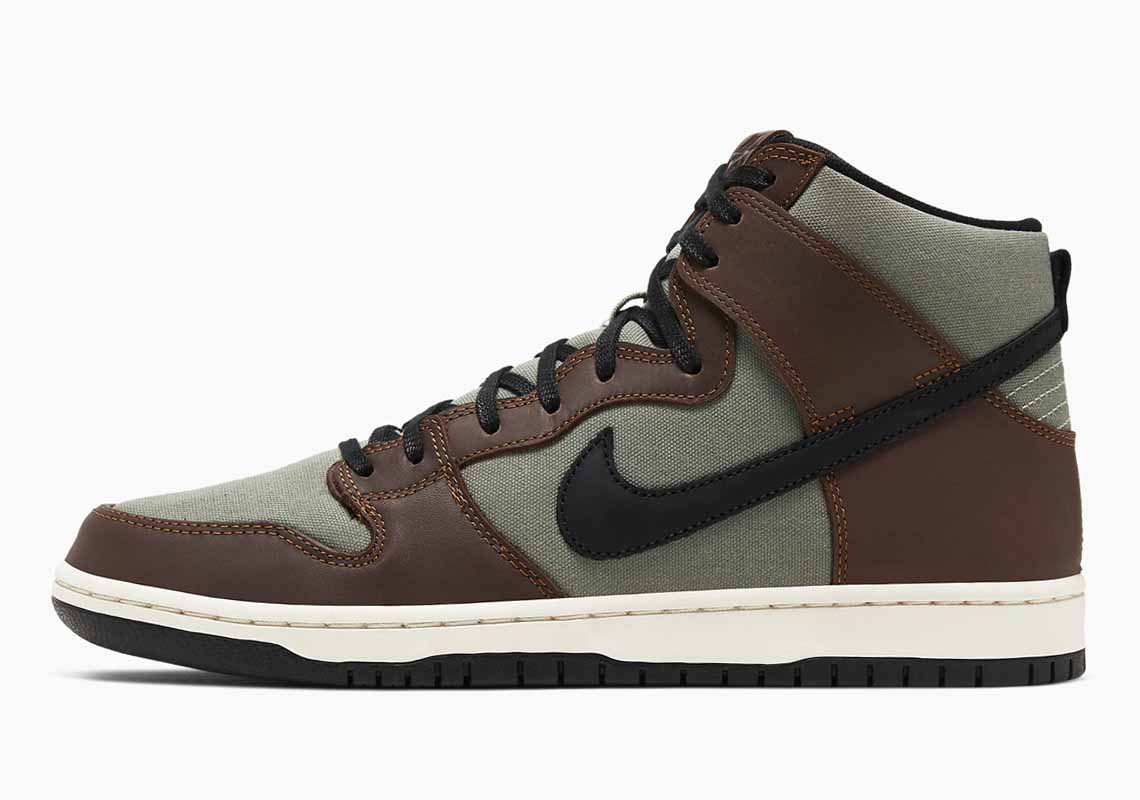 Nike SB Dunk High Baroque Brown Hombre y Mujer
