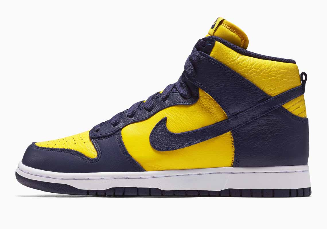 Nike SB Dunk High SP Michigan Hombre y Mujer